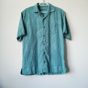 Tommy Bahama Relaxed Button Up Silk Shirt